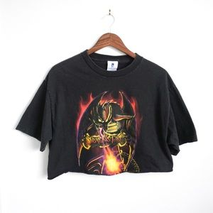Tops - Vintage Dragon 🔥 Crop T Shirt